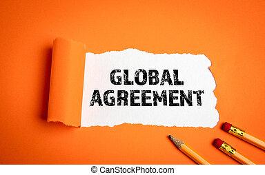 wzmacniacz, układy, agreement., kontrakty, globalna ekonomia, pojęcie