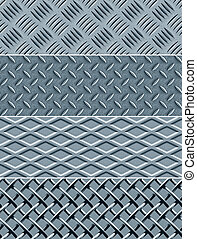 wzory, metal, seamless, struktura