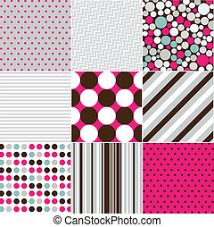 wzory, seamless, struktura, budowla