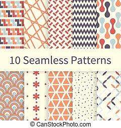wzory, seamless