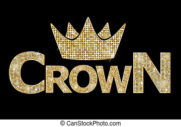złota korona, tekst