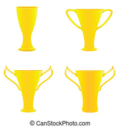 złoty, mistrz, trofea