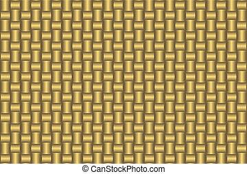 złoty, (vector), próbka, abstrakcyjny, seamless