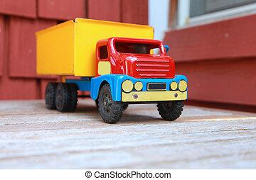 zabawkarski samochód