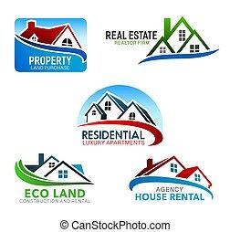 zabudowanie, okna, mansarda, dachy, dom, dom