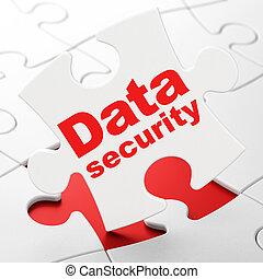 zagadka, bezpieczeństwo, tło, bezpieczeństwo, dane, concept: