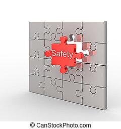 zagadka, bezpieczeństwo