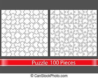 zagadki, 100, kawałki