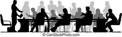 zajęty, spotkanie