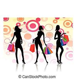 zakupy, kobiety