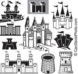 zamek, zbiór