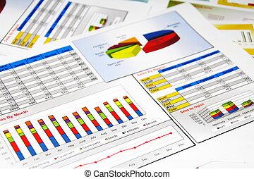 zameldować, wykresy, statystyka, zbyt kartuje