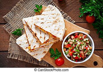 zarzutka, quesadilla, meksykanin