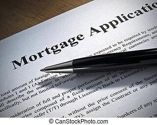 zastosowanie, hipoteka