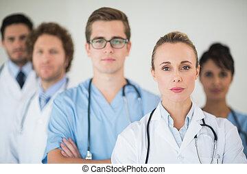 zaufany, medyczny zaprzęg, portret