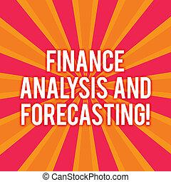 zawiadomienie, finansowy, finanse, handlowy, analysisagement, tekst, pokaz, dwa, afisz, znak, strategie, ads., forecasting., analiza, fotografia, konceptualny, atmosfera, skutek, sunburst, wybuch