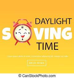 zbawczy, zegar, alarm, światło dzienne, czas, chorągiew