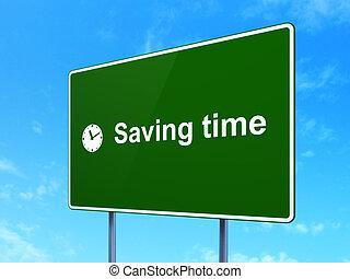 zbawczy, zegar, timeline, znak, concept:, tło, czas, droga