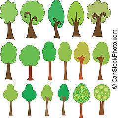 zbiór, drzewo