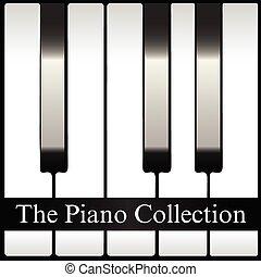 zbiór, piano