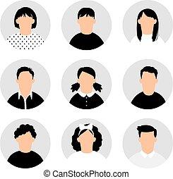 zbiór, wiek dojrzewania, avatars