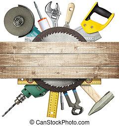 zbudowanie, narzędzia