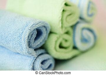 zdrój, ręczniki