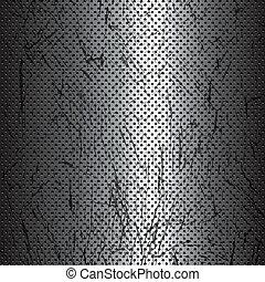 zdrapany, metal, struktura, tło