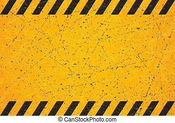 zdrapany, rectangle., illustration., poznaczcie., używany, wektor, czarnoskóry, czysty, pasiasty, ostrzeżenie