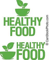 zdrowe jadło, icons.