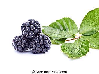 zdrowe jadło, jeżyna, owoc