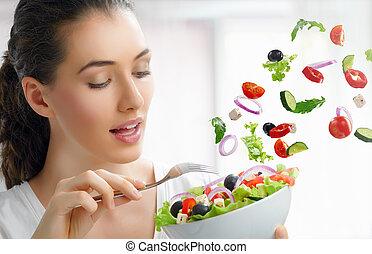 zdrowe jadło, jedzenie
