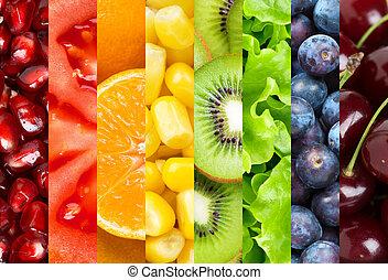 zdrowe jadło, tło