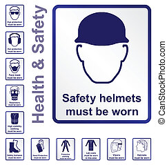 zdrowie, bezpieczeństwo, znaki