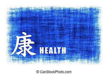 zdrowie, sztuka, -, chińczyk