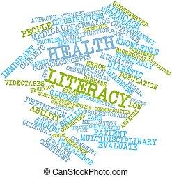 zdrowie, umiejętność czytania i pisania