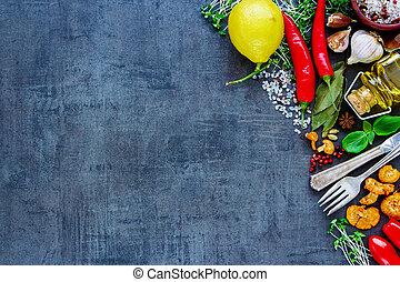zdrowy, bio, jadło