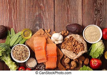 zdrowy, skład, jadło