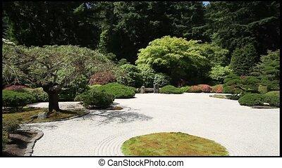 zen, japoński ogród