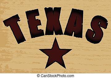 ziarno drewna, texas, tło