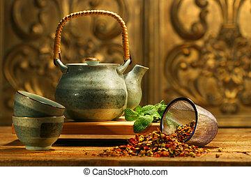ziele, asian, herbata