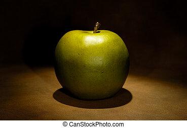 zielone jabłko