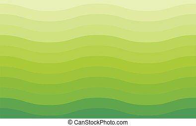 zielone tło, machać