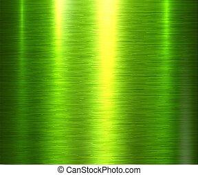 zielone tło, struktura, metal