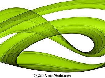 zielony abstrakt, formacja