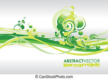 zielony, kwestia, spirala
