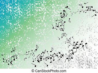 zielony, muzyka