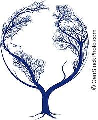 ziemia, drzewo