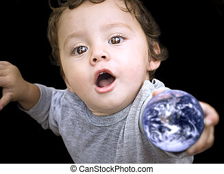 ziemia, dziecko