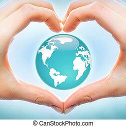 ziemia, miłość